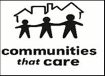 communities that care white logo